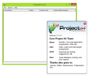 project64 emulator for PC and mobile