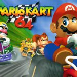 Mario Kart game for Nintendo 64