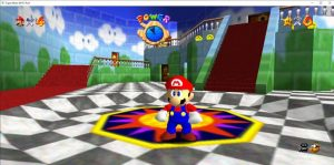 download Super Mario 64 ROM for PC N64