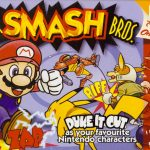 Super Smash Bros game cover for Nintendo 64