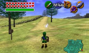 The Legend of Zelda: Ocarina of Time gameplay